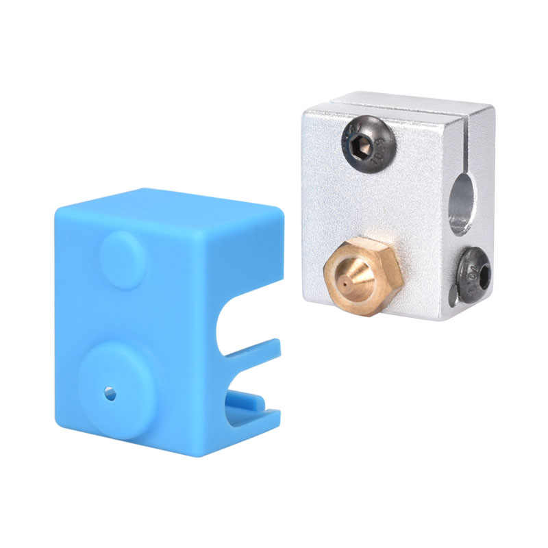 Bigtreetech V6 силиконовые носки Поддержка V6 оригинальный блок для J-head 1,75/3,0 мм Боуден и прямые экструдер 3D части принтера