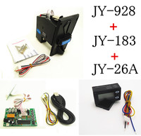 928 18B 26A DIY Coin Operated Time Control Device For USB Deivces Multi Coin Selector With