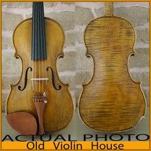 A Revolutionary 5-Strings Violin , Warm Tone.Concerto+ Level, Antique oil varnishing,No3614