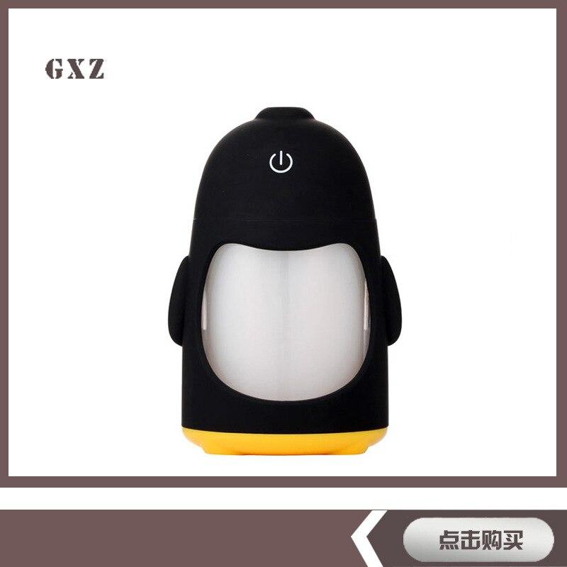 New Mini Penguin Humidifier Colorful Nightlight Essential Oil Diffuser Aroma Lamp Aromatherapy USB Mist Maker penguin island