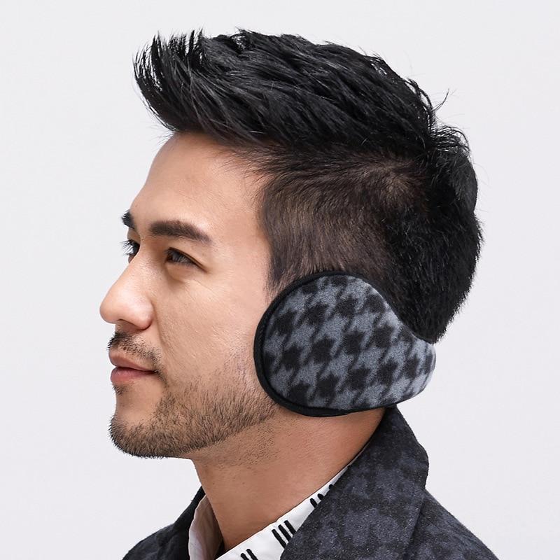 Winter Earmuff Men Women Foldable Cashmere Ear Warmers Adjustable Warm Pashmina Earflap Unisex Outdoor Fleece Ear Muffs Cover