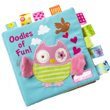 1 Pcs Educational Soft Activity Book Baby Early Education Toys Activity Crinkle Cloth Book YH-17 1pc baby educational learning toys infant cloth book cartoon animal pattern baby soft activity crinkle cloth books 1