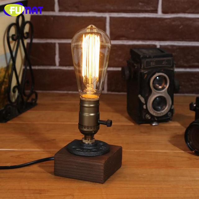 Online shop fumat vintage industrial table lamps study bar bedroom fumat vintage industrial table lamps study bar bedroom reading lights loft water pipe desk lights home decor luminaria de mesa mozeypictures Image collections