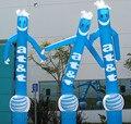 Бесплатная доставка + Вентилятор Горячие продажи рекламы надувная двуспальная ноги танцора воздуха, крытый надувные танцор воздуха/Sky dancer для 1 шт.
