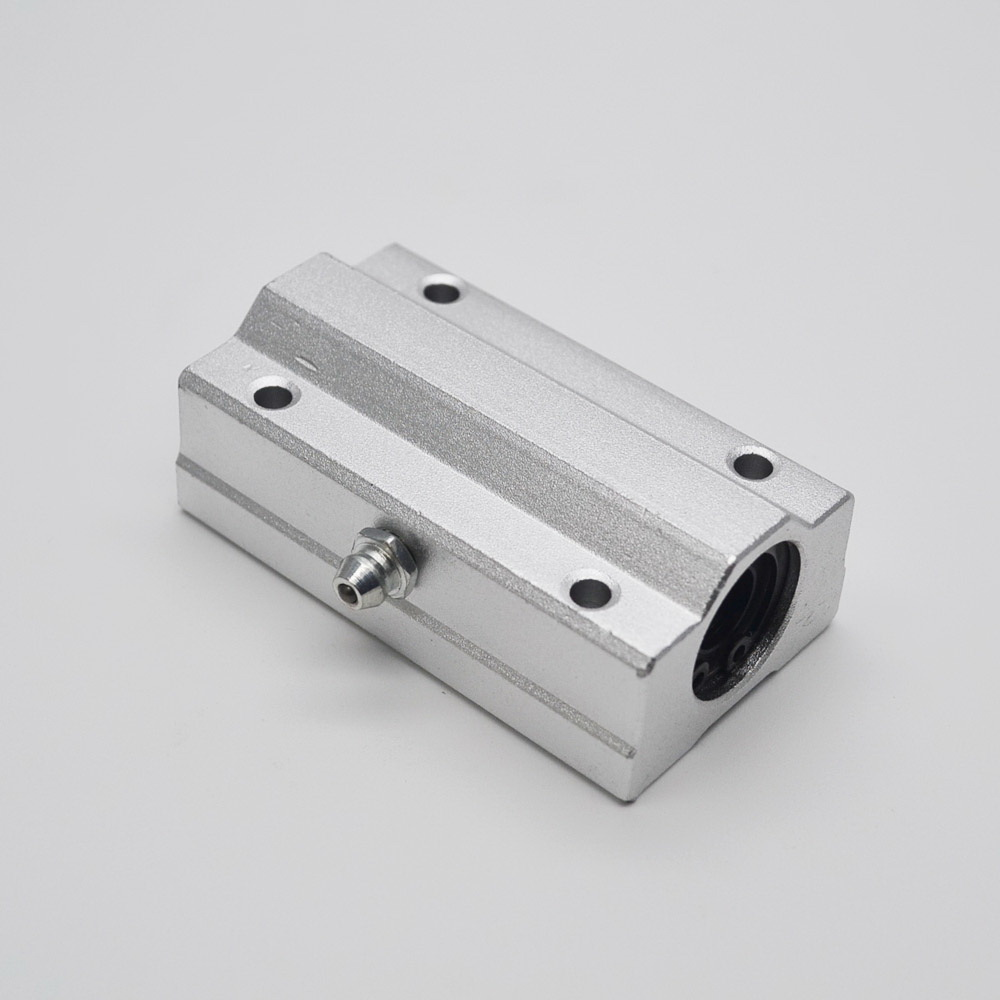 2pcs/lot SC8LUU SCS8LUU 8mm Linear axis Ball Bearing block Lengthen Bearing pillow Bolck Linear unit for CNC 1pc scs50uu 50mm linear guide linear axis ball bearing block with lm50uu bush pillow block linear unit for cnc part
