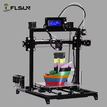 Flsun I3 DIY 3D-принтеры комплект Большая площадь печати 300*300*500 мм открытым построить алюминиевый