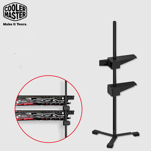 Image 2 - Cooler Master Graphics Cards Bracket Computer Graphics Companion Support Frame Water Head Overweight Pole Universal VGA Holder