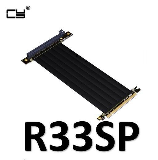 Gen3.0 PCI-E 16x à 16x rallonge PCIe câble pour PHANTEKS ENTHOO Evolv Shift PH-ES217E/XE PK-217E/XE ITX carte mère 10 cm