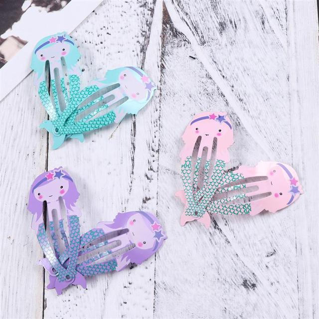 12pcs Lovely Metal Snap Hair Clips Barrettes Hair Accessories for Babies Girls Toddlers Children Kids Teens