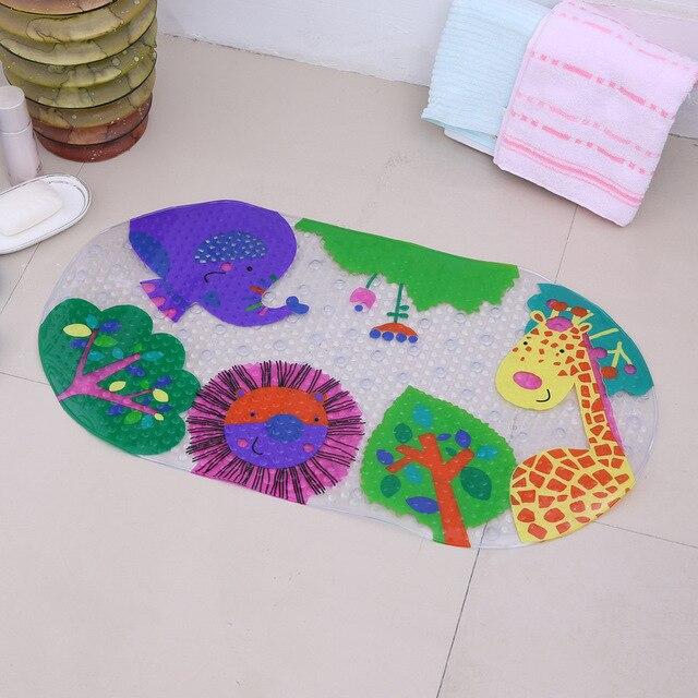 Pvc Shell Non Slip Massage Bath Bathroom Carpet Tapis Salle De Bain  Bathroom Rug Mat Toilet Tapete Banheiro Banyo Paspas