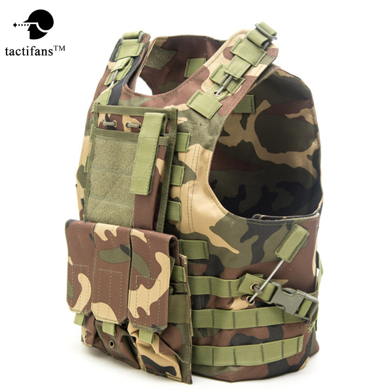 Ripstop Fabric Amphibious Military Body Armor Plate Carrier Tactical Vest Airsoft Gear Molle Mag Ammo Chest Rig Paintball Army wosport military hunting vest enhanced tactical 500dnylon molle jpc shooting game body armor rig plate carrier airsoft paintball