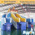 Free Shipping By Sea inflatable slide amusement park