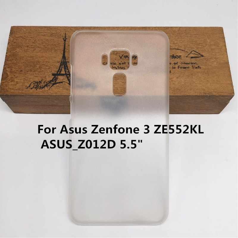 Claro duro caso mate para Asus Zenfone 5 Lite ZC600KL 5Z ZS620KL 5 2018 X00QD ZE620KL Asus 3 Deluxe ZS570KL 4 ZE554KL