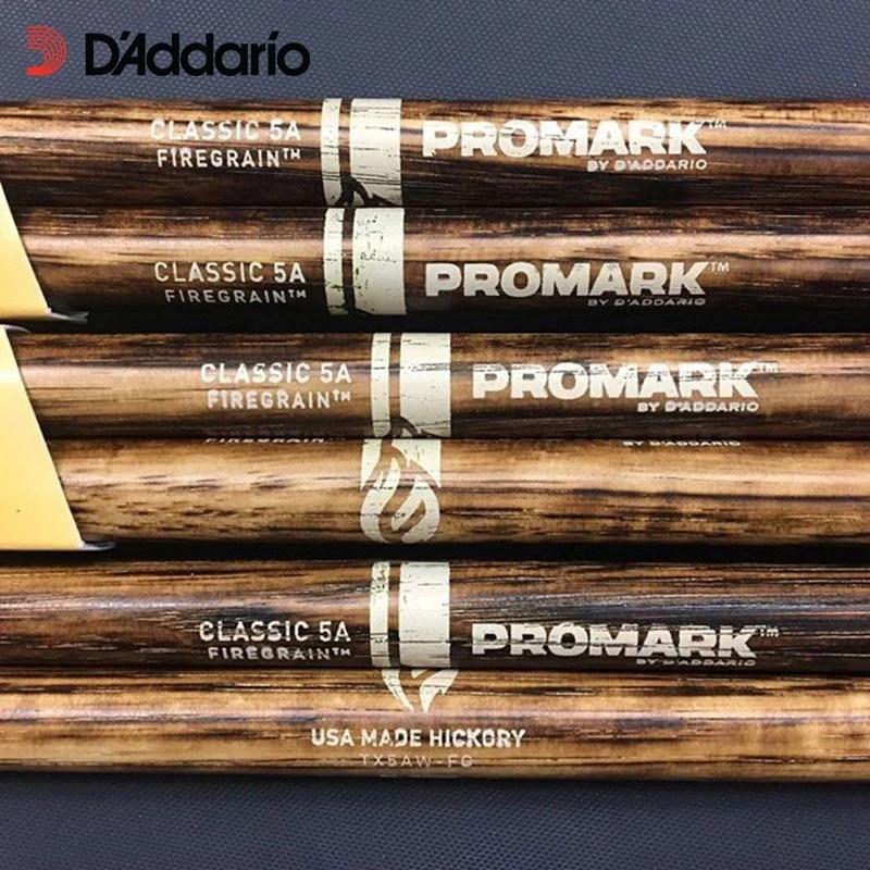 ProMark Classic 7A FireGrain Drumsticks Heat-Tempered Hickory