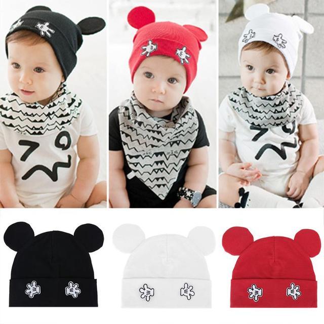 Sombrero caliente del bebé punto de algodón sombreros para Niños ...