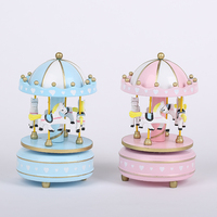 music box music box desktop furnishing articles woodiness adornment friend birthday present for his girlfriend