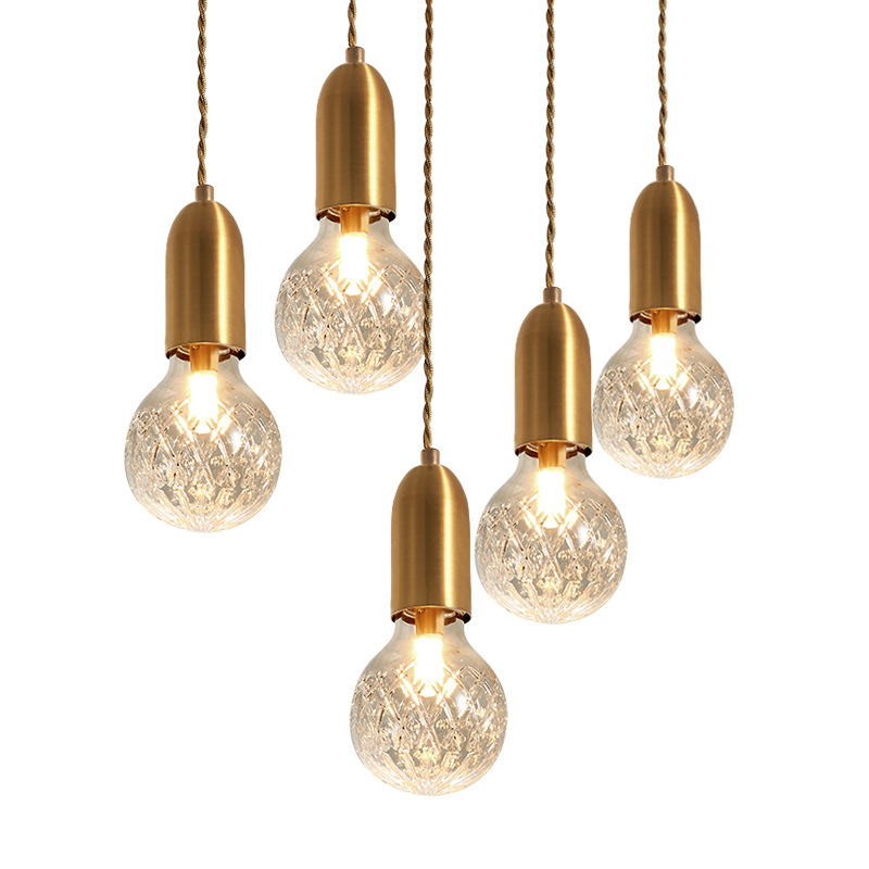 Modern Gold Pendant Light Hanging Lamp Simple Globe Glass Suspension Luminaire for Kitchen Living Dining Room Bedroom Home DecorModern Gold Pendant Light Hanging Lamp Simple Globe Glass Suspension Luminaire for Kitchen Living Dining Room Bedroom Home Decor