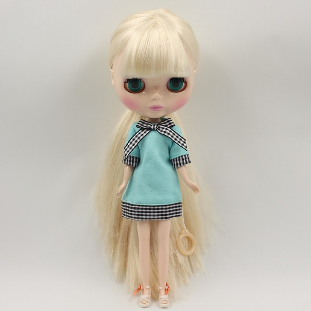 ICY Neo Blythe Doll White Beige Hair Regular Body 28cm