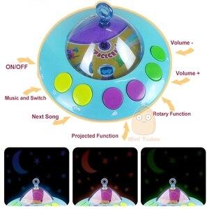 Image 3 - Łóżeczko dziecięce zabawka 0 12 miesięcy dla noworodka mobilna pozytywka dzwonek do łóżka z grzechotki zwierzątka wczesna nauka zabawki edukacyjne dla dzieci