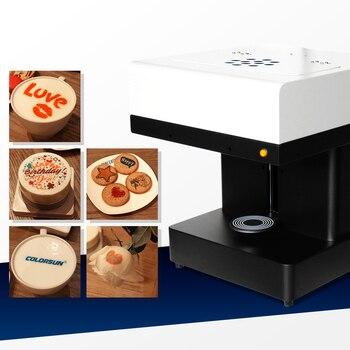 Colorsun Coffee Printer cake Printing machine food inkjet Printer Selfie coffee printing machine with edible ink