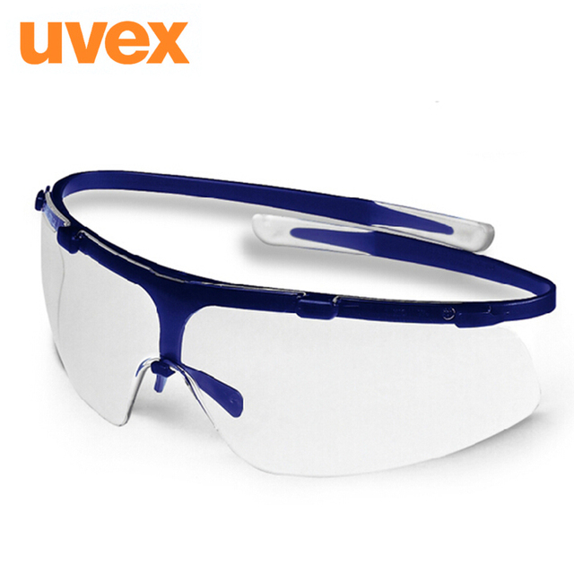 Uvex super G9172 goggles ultra-thin lenses performance anti-fog anti-uv protective safety glasses with box G0621