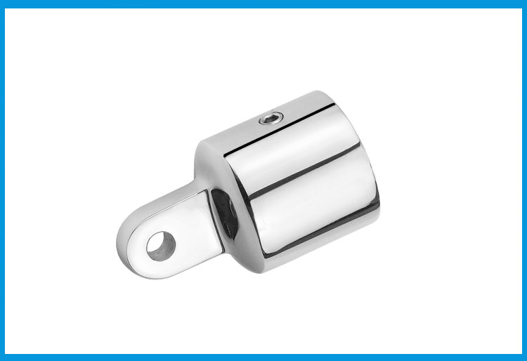 316 Stainless Steel 1 Inch Awning Accessories External Eye End Canopy Tube End Sailboat Yacht Boat Top Pipe Eye End Cap Hardware Atv,rv,boat & Other Vehicle