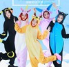 Unisex Dinosaur Stitch Winter Pajamas Cosplay Panda Totoro Flannel Adult Homewear Winter Loungewear Sleep Couple Animal