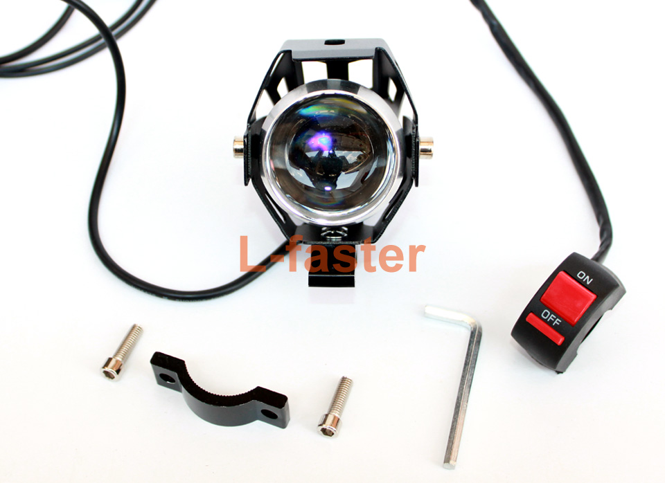 electric bike lens headlight with switch -2-a