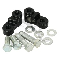 CNC Aluminum 1 Drop Rear Lowering Kit For Harley Sportster XL 883 1200 2005 17 Chrome Black