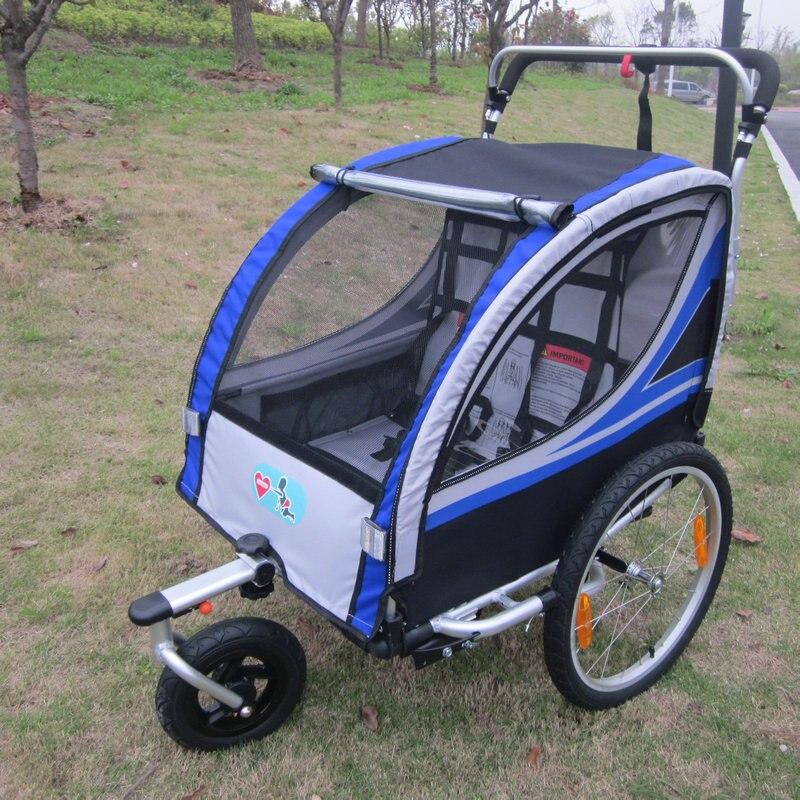 Lovebaby 20 Inch Pneumatic Wheel Baby Jogger Bike Trailer Stroller With Double Brake air wheel baby car baby jogger stroller