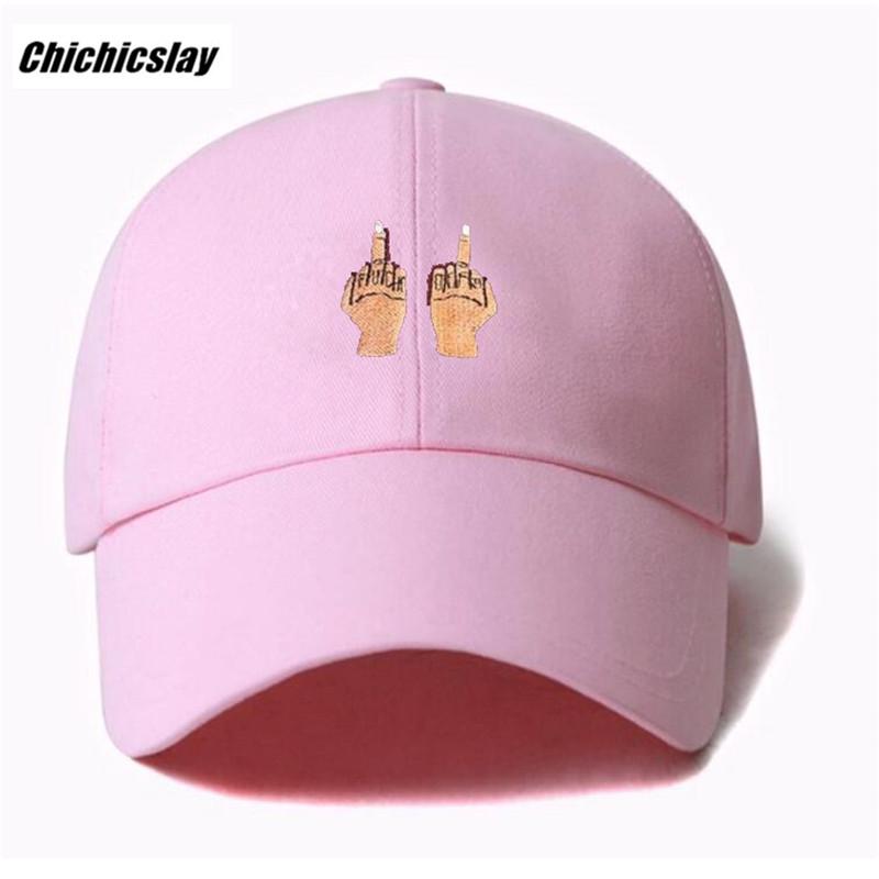 HTB1wPATSXXXXXayapXXq6xXFXXXw - Middle Finger Strap Baseball Hat Snapback Caps
