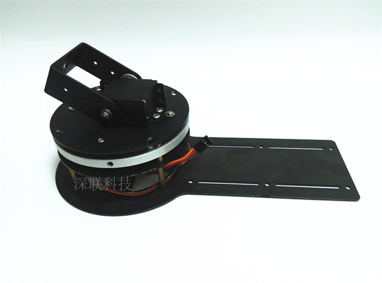 2 Degrees of Freedom Rotating Pan Head Base Disk Robot Mechanical Arm Parts Arduino DIY six degrees of freedom robotic arm with a rotating three dimensional structure of the full metal base stand