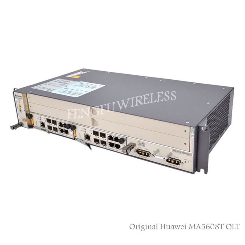 Fiber Optic Equipments Sensible New Original Hua Wei Smartax Ma5608t 16ports Opitcal Line Terminal Olt Device 10ge Mpwd Power Epon Gpon Olt By Dhl High Standard In Quality And Hygiene Communication Equipments