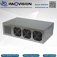 High Performance 8GPU Bitcoin Rack Mining Machine Excluding 8gpu Cards