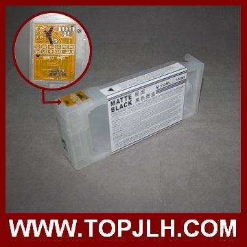 refillable ink cartridge for epson 9890 with Auto Reset Chip