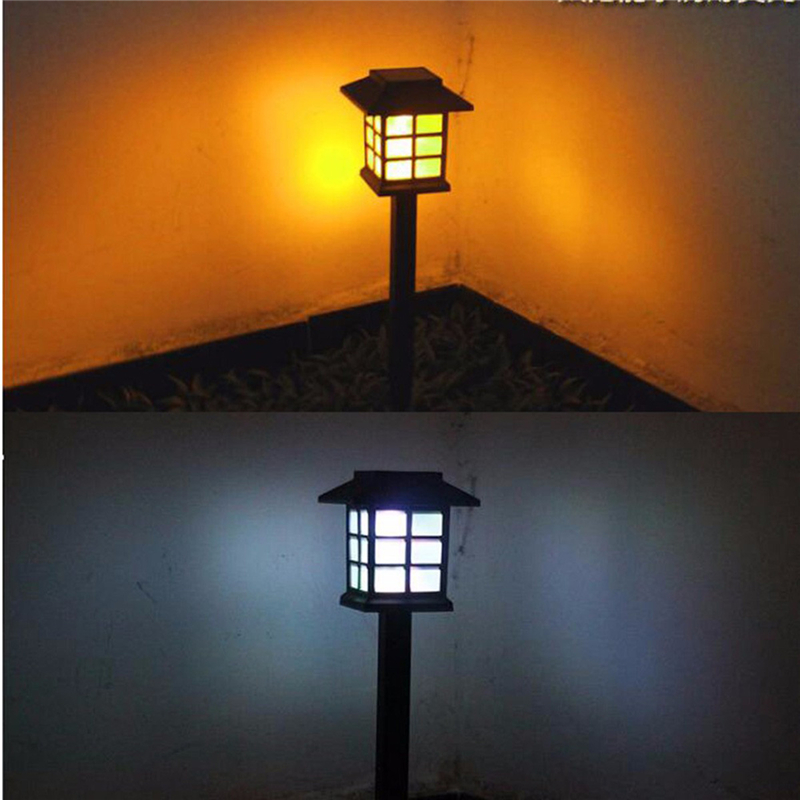 Led Yang Berubah Warna Taman Tenaga Surya Lampu Outdoor Tahan Air Tanah Lampu Lanskap Lampu Taman Solar Led Untuk Dekorasi Taman Jalan Lampu Surya Aliexpress