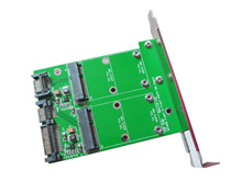 F17166 MSATA для SATA3.0 плат расширения PCI SSD переходники
