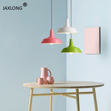 Modern Restaurant Simple LED Pendant Lamp Coffee Shop lustre hanging lamp Decor Lighting Light Fixture Loft Pendant Lights