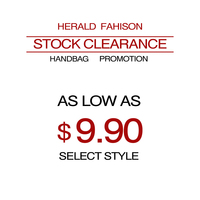 Herald Fashion Stock Clearance Women Handbag Super Promotions Top Handle Bag Totes As Low As 9