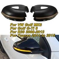 Sequential Blinker LED Dynamic Light For VW Golf MK6 /Golf G TI 6 For Touran 2011 to 2015 For R20 Side Mirror Turn Signal Light