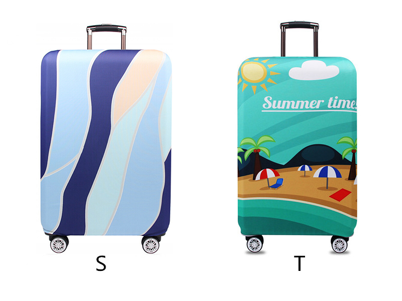 Thicker Travel Luggage Protective Cover Suitcase Case Travel Accessories Elastic Luggage Dust Cover Apply to 18''-32'' Suitcase 15