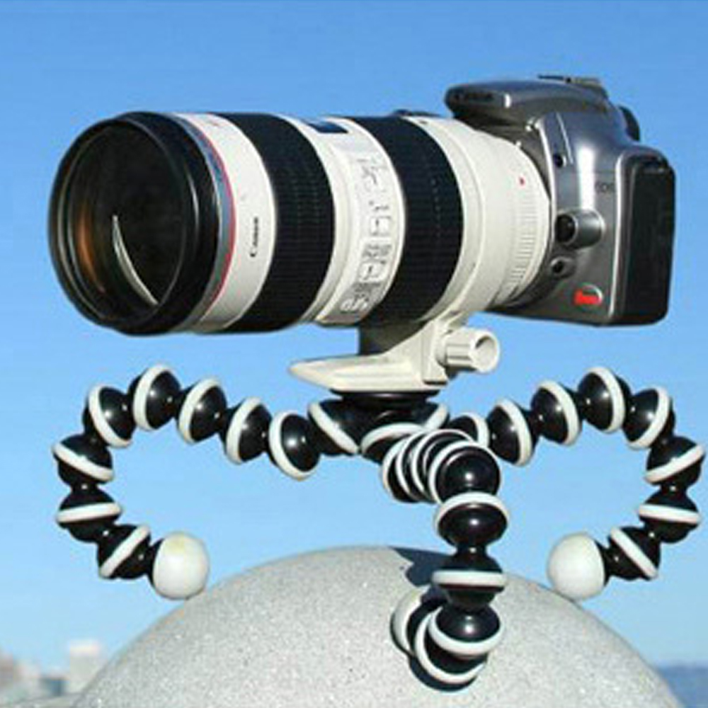 Moyen Grand Poulpe Flexible Appareil Photo Numérique Stand Gorillapod Manfrotto Mini trépied avec Support pour Gopro hero 2 3 et smart téléphone