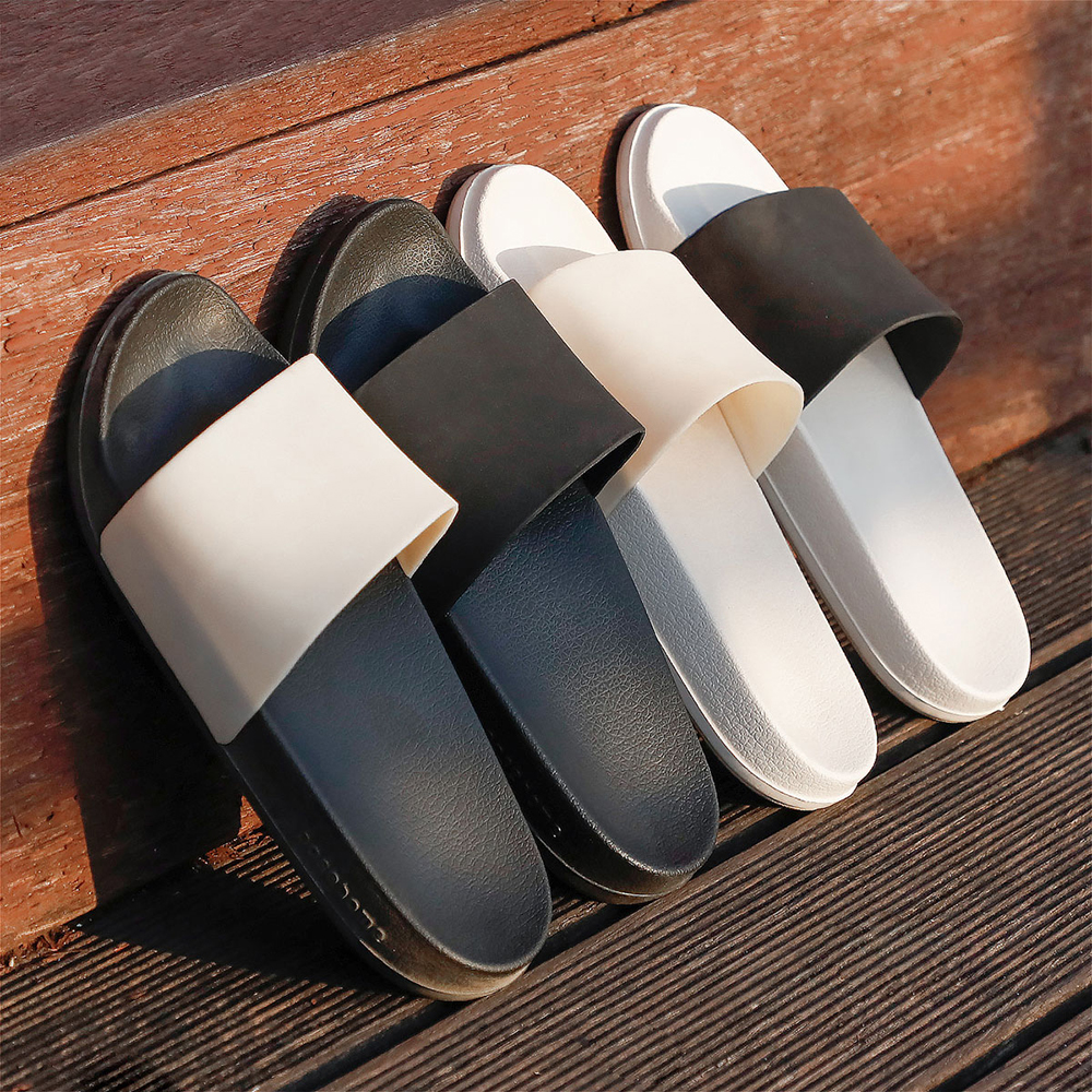 Posee Summer Slippers  Woman Lady Fashion Soft Sole Platform Outdoor Slippers Flat Beach Slides Slippers Sandals  3110