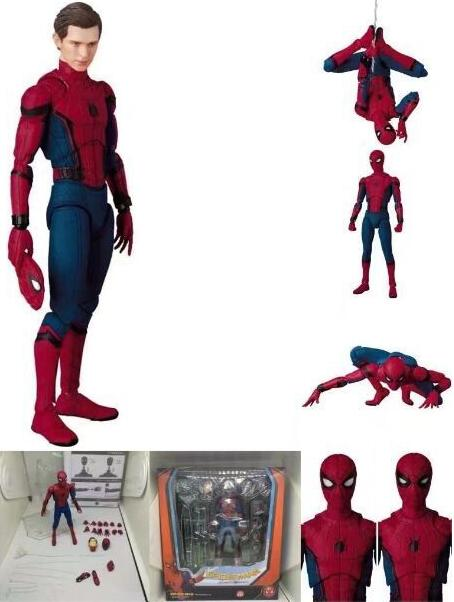 15cm Spider-Man Movie Spiderman joint Movable Anime Action Figure PVC toys Collection figures for friends gifts15cm Spider-Man Movie Spiderman joint Movable Anime Action Figure PVC toys Collection figures for friends gifts