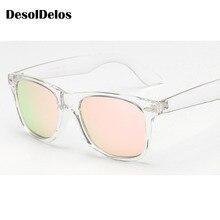 2019 New Brand Unisex Square Vintage Polarized Sunglasses mens Women Rivets Night Vision Retro Sun glasses gafas oculos UV400
