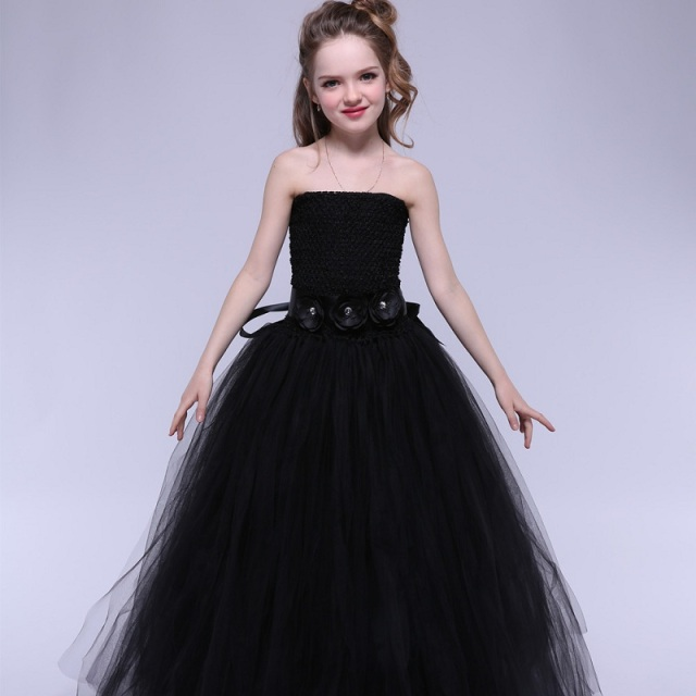 Girls Princess Formal Dress Mother Daughter