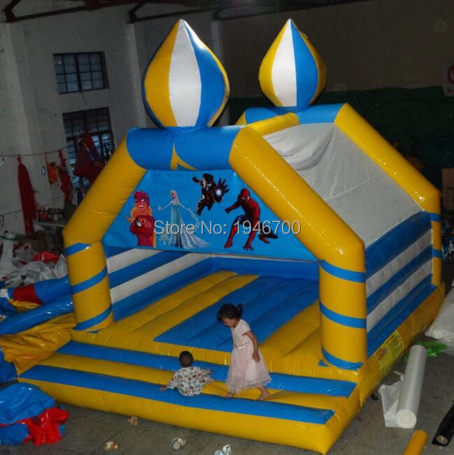 2017 inflatable star mini bounce house /inflatable jumping bouncy castle for kids indoor playground trampoline