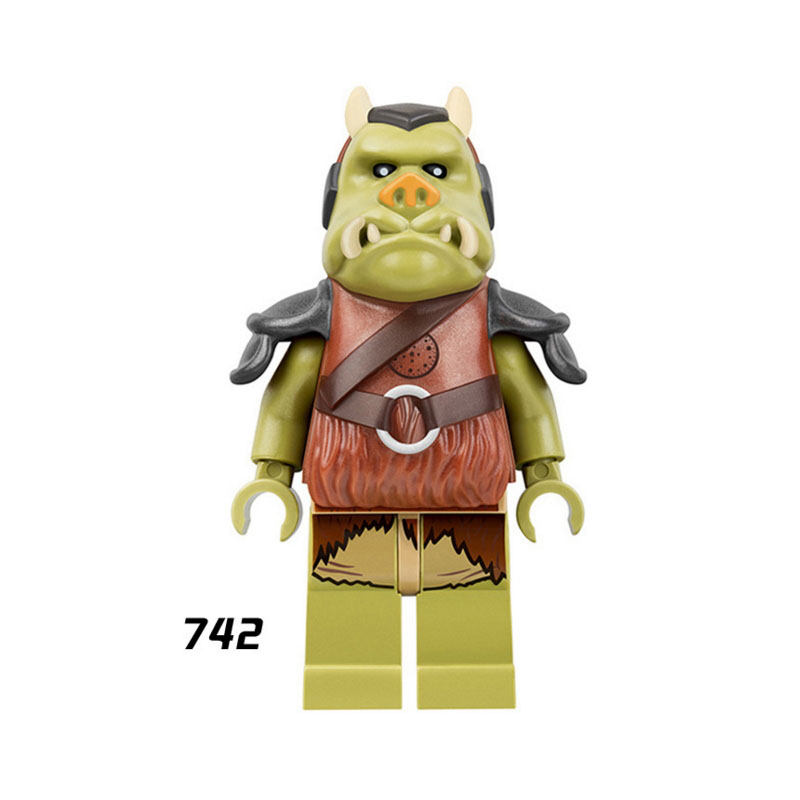 Single Super Heroes Star Wars 742 Ewok Village Gamorrean Guard Building Blocks Figure Bricks Toys Gift Compatible Legoed Ninjaed