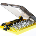 45 in 1 Professional Hardware Tweezer Screw Driver Tool Kit for Phone PC