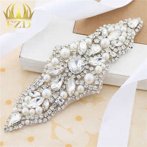(30pieces) Wholesale Handmade Hot Fix Sewing on Pearls Applique for  Garments Wedding Dresses 6ec8d44f810d